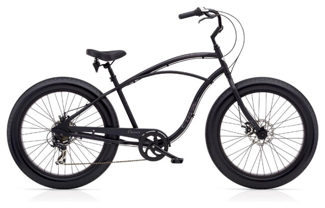 Cruiser-Bike Electra Bicycle Cruiser Lux Fat Tire 7D Men's 2018