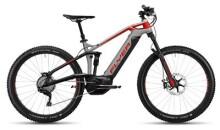 E-Bike FLYER Uproc 3 Marmorgrau/Ibisrot