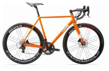 Rennrad Cinelli NEMO DISCO Rahmenset orange