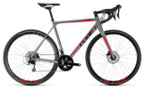 Rennrad Cube Cross Race Pro grey´n´red