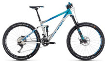 Mountainbike Cube Stereo 160 SL 27.5 metal´n´blue