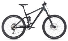 Mountainbike Cube Stereo 160 Race 27.5 black´n´grey