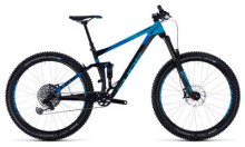 Mountainbike Cube Stereo 150 27.5+ black´n´blue