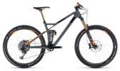 Mountainbike Cube Stereo 140 HPC TM 27.5 grey´n´orange