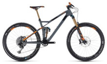 Mountainbike Cube Stereo 140 HPC TM 27.5 grey´n´orange