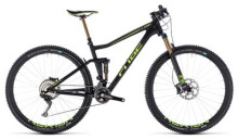 Mountainbike Cube Stereo 120 HPC SLT carbon´n´flashgreen