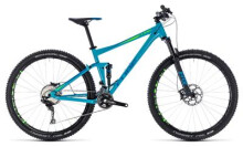 Mountainbike Cube Stereo 120 Race blue´n´green
