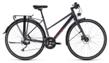 Trekkingbike Cube Travel Sport iridium´n´red