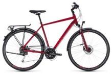 Trekkingbike Cube Touring EXC darkred´n´red