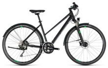 Trekkingbike Cube Cross Allroad black´n´green