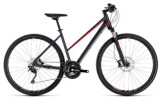 Crossbike Cube Cross EXC iridium´n´red
