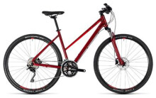 Crossbike Cube Nature SL darkred´n´red