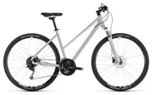 Crossbike Cube Nature Pro bright grey´n´white