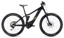 E-Bike Cube Sting Hybrid 120 HPC SL 500 carbon´n´gold
