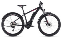 E-Bike Cube Access Hybrid Pro Allroad 400 black´n´berry