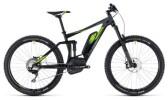 E-Bike Cube Stereo Hybrid 140 Race 500 27.5 black´n´green