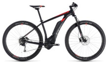 E-Bike Cube Reaction Hybrid ONE 500 black´n´red