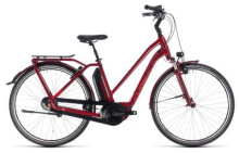 E-Bike Cube Town Hybrid Pro 400 darkred´n´red