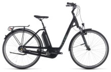 E-Bike Cube Town Hybrid ONE RT 400 black´n´frostgreen