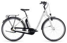 E-Bike Cube Town Hybrid ONE 500 white´n´silver