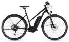 E-Bike Cube Cross Hybrid Race Allroad 500 black´n´white