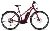 E-Bike Cube Cross Hybrid Pro Allroad 500 darkred´n´red