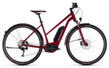E-Bike Cube Cross Hybrid Pro Allroad 500 darkred´n´red