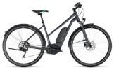 E-Bike Cube Cross Hybrid Pro Allroad 500 grey´n´flashgreen