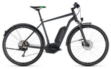 E-Bike Cube Cross Hybrid Pro Allroad 500 grey´n´flashgreen