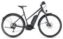 E-Bike Cube Cross Hybrid Pro Allroad 400 grey´n´flashgreen