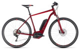 E-Bike Cube Cross Hybrid Pro 500 darkred´n´red