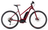 E-Bike Cube Cross Hybrid Pro 400 darkred´n´red