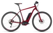 E-Bike Cube Cross Hybrid Pro 400 darkred´n´red