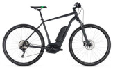 E-Bike Cube Cross Hybrid Pro 500 grey´n´flashgreen