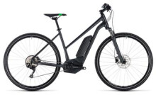 E-Bike Cube Cross Hybrid Pro 400 grey´n´flashgreen
