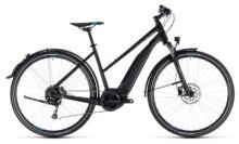 E-Bike Cube Cross Hybrid ONE Allroad 500 black´n´blue
