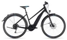 E-Bike Cube Cross Hybrid ONE Allroad 400 black´n´blue