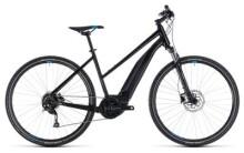 E-Bike Cube Cross Hybrid ONE 400 black´n´blue