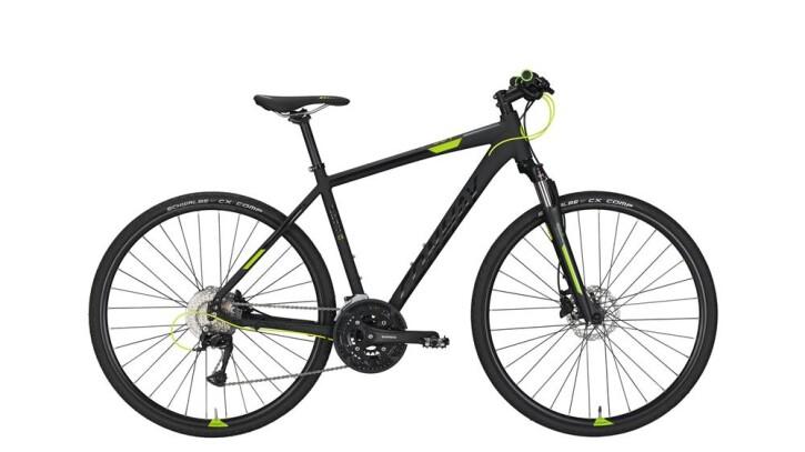 Crossbike Conway CS 501 black matt/lime -55 cm 2018