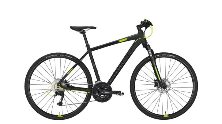 Crossbike Conway CS 501 black matt/lime -45 cm 2018