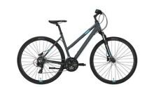 Crossbike Conway CS 301 Trapez grey matt/blue -48 cm