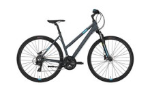 Crossbike Conway CS 301 Trapez grey matt/blue -44 cm