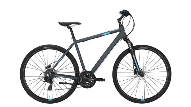 Crossbike Conway CS 301 grey matt/blue -60 cm 2018