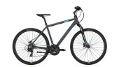 Crossbike Conway CS 301 grey matt/blue -52 cm