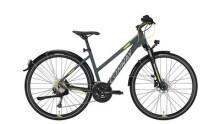 Trekkingbike Conway CC 401 Trapez grey matt/lime -45 cm