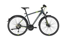 Trekkingbike Conway CC 401 grey matt/lime -45 cm