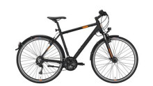 Trekkingbike Conway CC 400 black matt/orange -48 cm