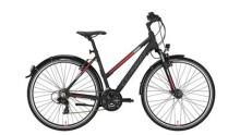 Trekkingbike Conway CC 300 Trapez black matt/red -48 cm