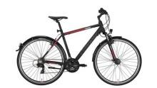 Trekkingbike Conway CC 300 black matt/red -48 cm