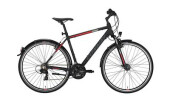 Trekkingbike Conway CC 300 black matt/red -52 cm